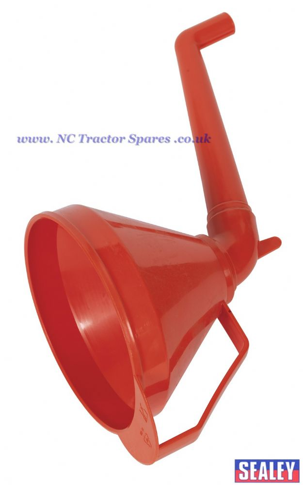 Funnel with Fixed Offset Spout & Filter Medium 160mm